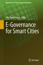 E-Governance for Smart Cities Book